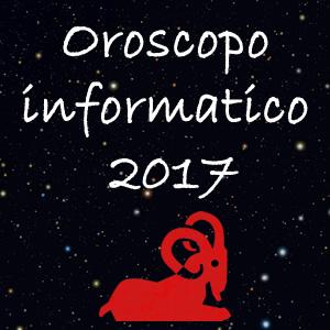 oroscopo informatico 2017
