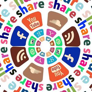 I 7 argomenti più condivisi sui social network